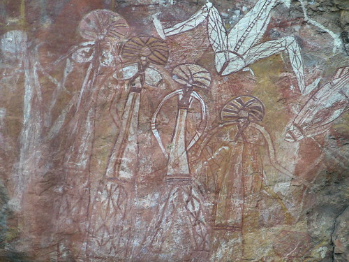 Nourlangie Rock - rock art