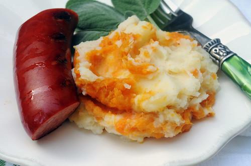 sweetwhite potato swirl_plate