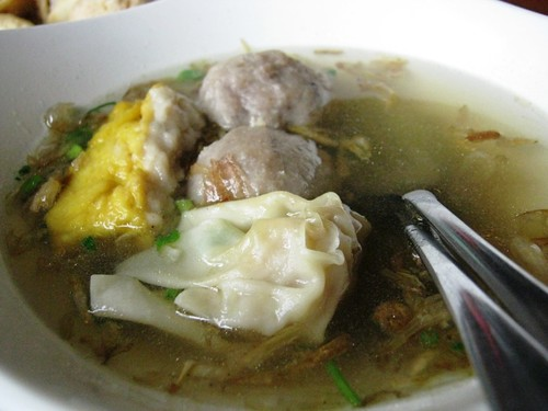 "wet stuff in ""Bakso Malang"""