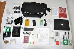 uk travel london bag journey inside messenger whatsinmybag insight creators incase creatorsproject