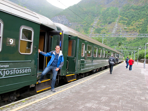 Train Station - Flam Railway, Norway