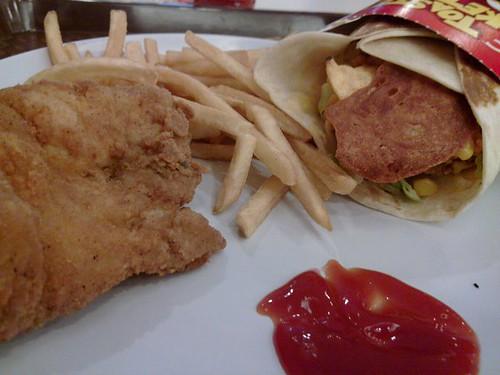 KFC Toasted Pocketful