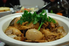 Aunt Lay Leong's Soy Sauce Stewed Pork (avlxyz) Tags: food stew egg pork soysauce homecooking 竹笙 面筋 豉油猪肉 豆油肉 soysaucestewedpork