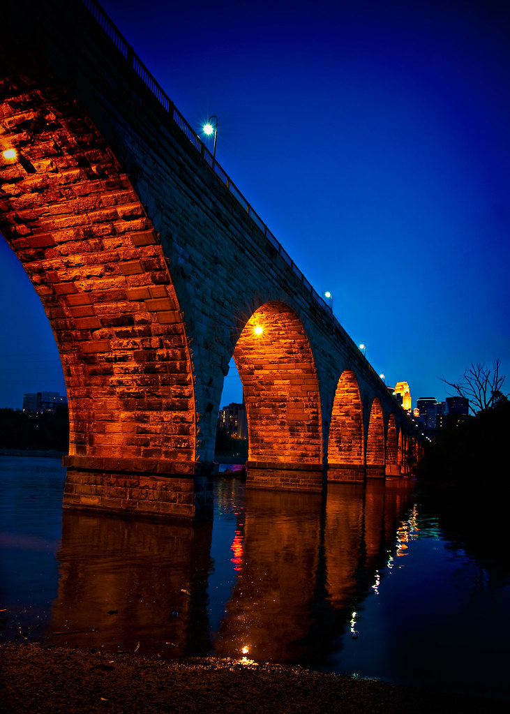 Minneapolis, Stone Arch Bridge