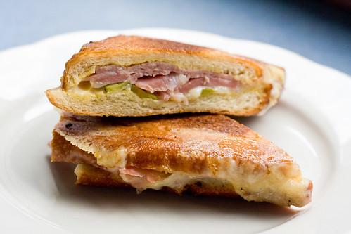 Cubano sandwich, M. Wells Diner