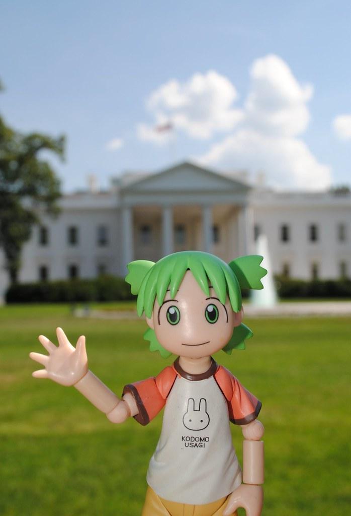 Yotsuba visited the White House