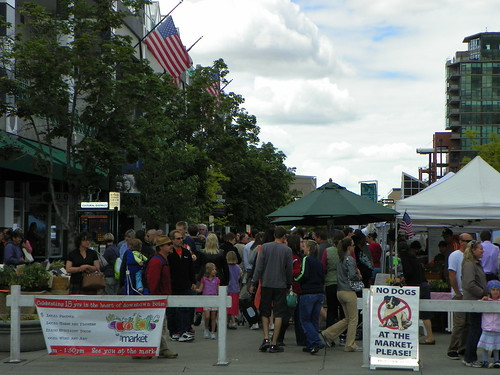 Four blocks of vendors and fun at Boise Farmers Market