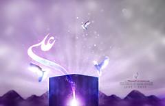 The Birth of imam ali3 (70hassan07) Tags: al dove muslim islam iraq birth ali shia hassan calligraphy 13   islamic imam  shiite    kaaba     rajab                    musawi 70hassan07