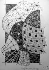 It Slipped My Mind (Jo in NZ) Tags: pen ink drawing line doodle zentangle nzjo zendoodle