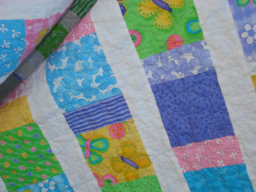 Hana's Butterfly Baby Quilt