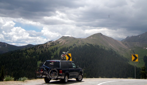 Just below Independence Pass