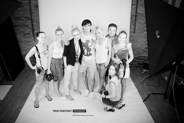 My students, models and I