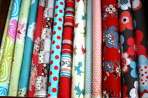 Just Some of the Fabric at the Stitch Lab