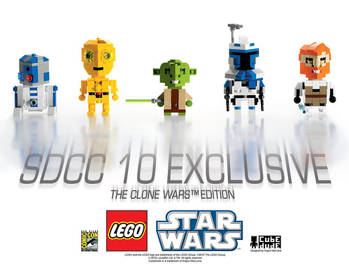 LEGO San Diego Comic Con 2010 Exclusive