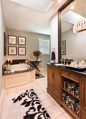 IMG_0292 (Oivanki) Tags: white house black home modern magazine bathroom bath sink designer interior room chandelier spa luxury decorator