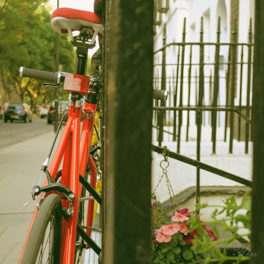 Bici en Russel Square