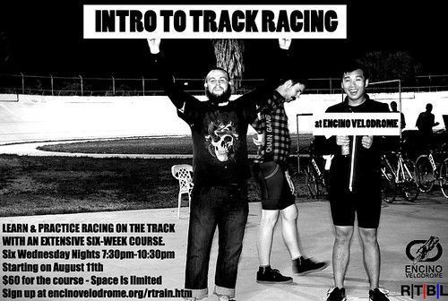Intro To Track Racing @ Encino Velodrome