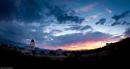 Salt Lake City: Capital at Sunset