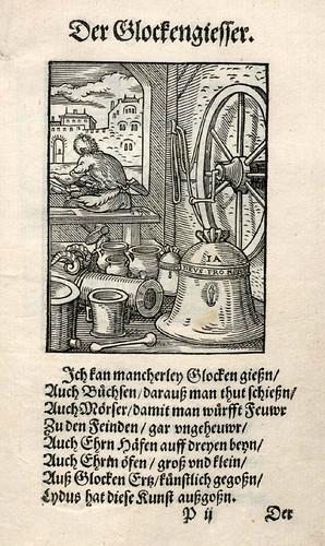033-Fabricante de campanas-Ständebuch 1568-Jost Amman-Hans Sachs