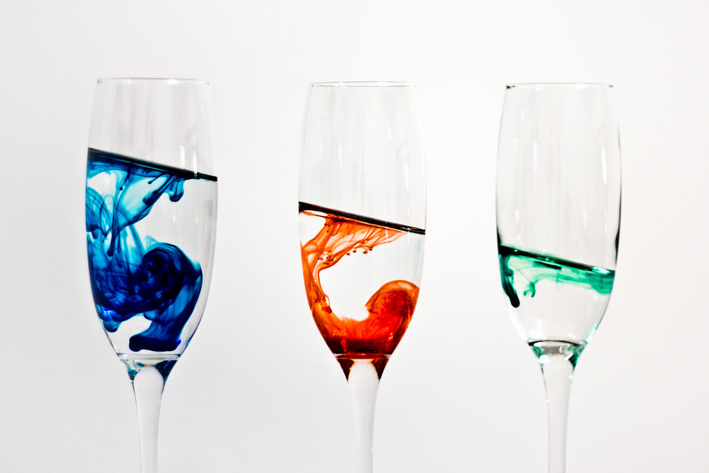 The angle of descent
