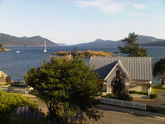 Orcas Island, view from our room at the Outlook Inn (tgidenver) Tags: seattle email orcasisland