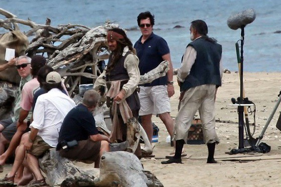 Pirates of The Caribbean 4 set