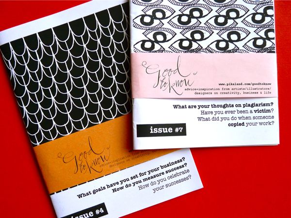Two new creative zines I've found…