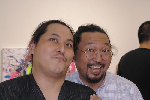 DJ Patasan and Mr. Takashi Murakami.