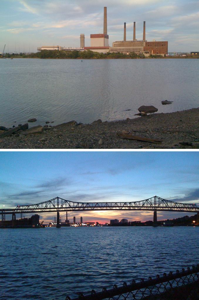 Mystic Station. Mystic Bridge. Mystic River.