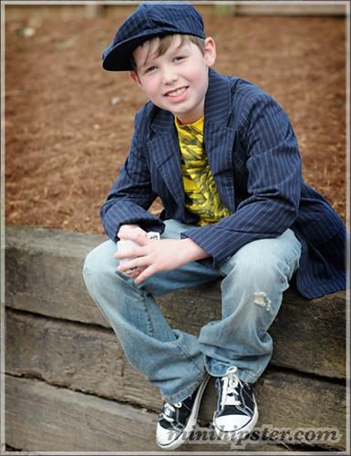 Julian. MiniHipster.com: children's childrens clothing trends, kids street fashion, kidswear lookbook