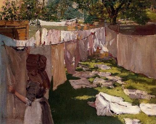 Wash Day, circa 1886