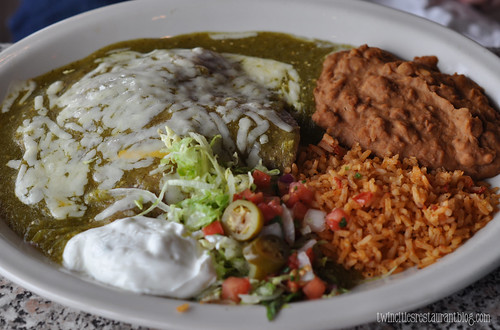 Chuy's ~ Chicken Enchilada