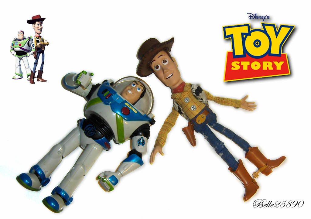My New Sheriff Woody and Buzz Lightyear Toys