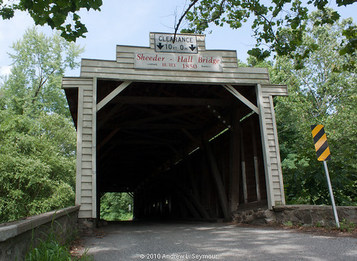 Sheeder-Hall Covered Bridge (Entrance) 027