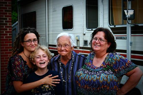 Granny Mom Me and Zeb