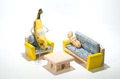 Doctor Bananas' Diagnosis: (ICT_photo) Tags: psychiatry office crazy nuts banana doctor peanut disorder foodart mental psychology diagnosis psychiatrist ictphoto ianthomasguelphontario