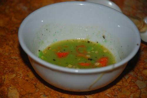 Wasabi dipping sauce