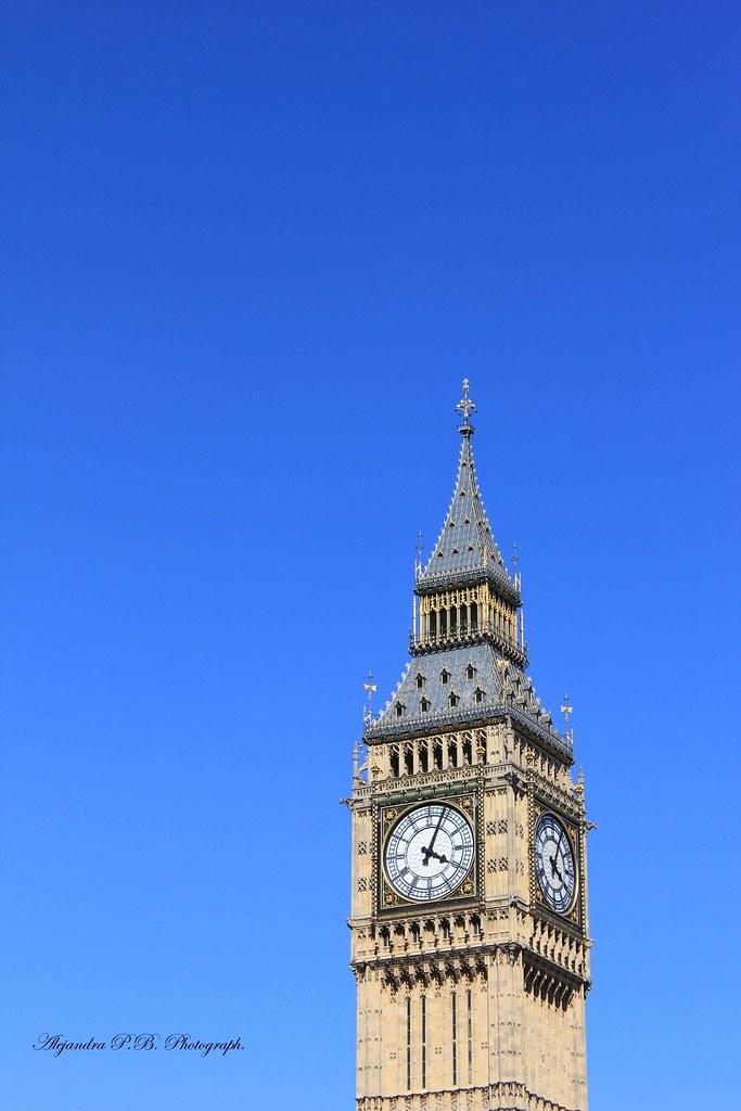 Blue Sky Big Ben