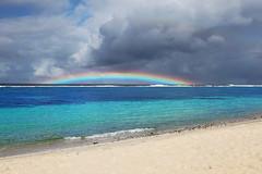 Lalomanu Beach - Upolu Island, Samoa (Adam Pflum Photography) Tags: ocean blue beach water rainbow sand paradise turquoise southpacific tropical mygearandme mygearandmepremium mygearandmebronze mygearandmesilver