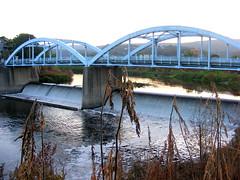 The Blue Bridge (Javcon117*) Tags: county waterfall md maryland worldwide westvirginia photowalk third annual potomacriver 3rd cumberland allegany 2010 bluebridge july24 mineralcounty javcon117 frostphotos westernmarylandphotographersassociation