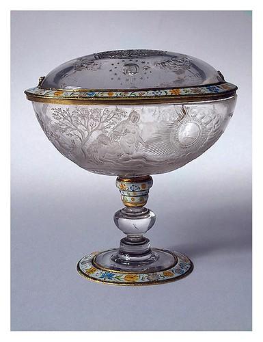015-Jarrón con tapa-Cristal de roca oro y esmalte-Alemania siglo 17-Copyright ©2003 State Hermitage Museum
