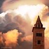 Trani: sfarzo medioevale (EXPLORED #30) (Michele Cannone) Tags: light sunset red sun church clouds tramonto nuvole cathedral cloudy chiesa explore sole frontpage rosso luce romanic romanico cattedrale nuvoloso trani