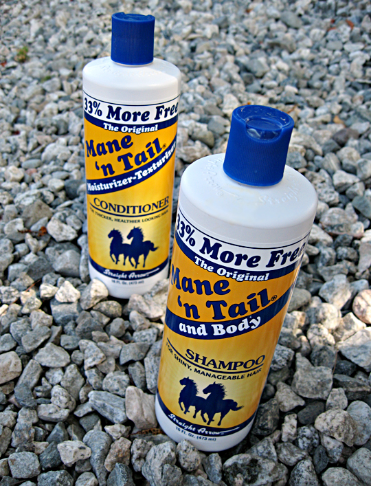 Mane 'n Tail shampoo & conditioner