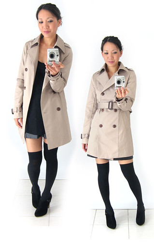 Trench Coat from Yesstyle