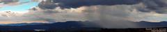 Rain (Gianluchino.) Tags: sky panorama rain clouds landscape lago nuvole grigio cielo azzurro pioggia paesaggio corbara diga ef75300mmf456iii