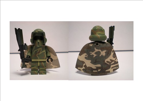 Lego Custom scout trooper camouflage