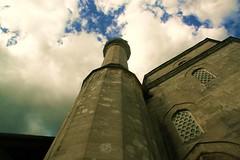 Minaret in Mostar (J.B.B. Photography) Tags: clouds minaret mostar muslim islam mosque bosniaandherzegovina westmostar