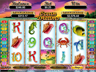 Ocean Dreams slot game online review