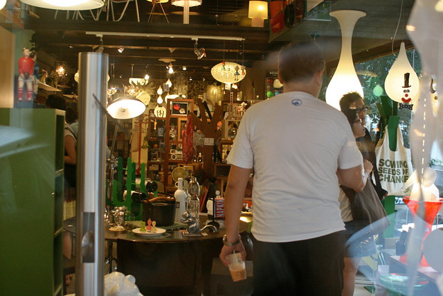 Lots of shops selling curios, upmarket bric-a-brac and home accessories at Gough Street
