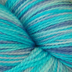 Hoar Frost July yarn closeup